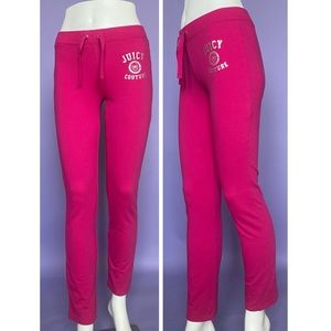 Juicy Couture Pink Sweatpants